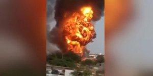 Kimya fabrikasında patlama: 13 ölü