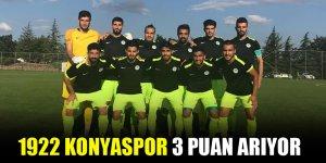 1922 Konyaspor 3 puan arıyor