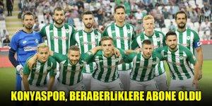 Konyaspor, beraberliklere abone oldu