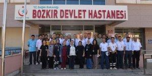 İl Sağlık Müdürü Mehmet Koç hastane ziyareti gerçekleştirdi