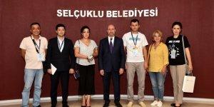 Özbekistan Heyeti Selçuklu Belediyesini ziyaret etti