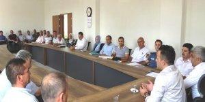 Hisarcık'ta '11 milyon fidan toprakla buluşma' etkinliği toplantısı