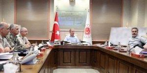 Turquie : longue réunion au ministère de la Défense, sur l'opération Source de Paix