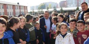 Başkan Tutal'dan okul müdürlerine ziyaret