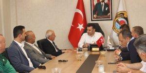 Bozkır Belediye Başkanı Saygı ve beraberindekilerden Alanya'ya ziyaret