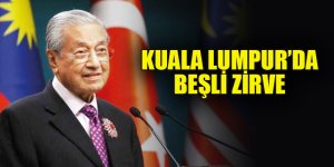 Kuala Lumpur'da beşli zirve
