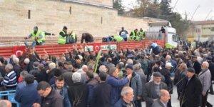 Ereğli Belediyesinden çiftçiye 5 bin fidan dağıtıldı