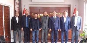 MHP Yunak'dan  Remzi Karaarslan'a hayırlı olsun ziyareti