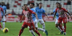 Antalya ile Gaziantep FK yenişemedi