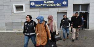 Samsun'da FETÖ operasyonu: 5 gözaltı