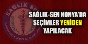 Sağlık Sen Konya'da seçimler yeniden yapılacak