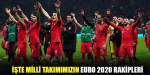 A Milli Takımımızın EURO 2020 rakipleri belli oldu
