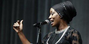 ABD'li şarkıcı Della Miles Konya'da konser verdi