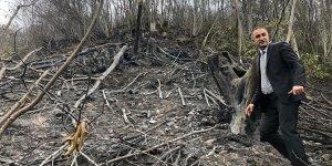 Ordu'daki örtü ve orman yangınlarını söndürme çalışmaları devam ediyor