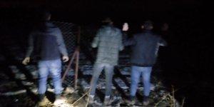 Konya'da izinsiz kazı yapan 4 kişi suçüstü yakalandı