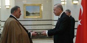 Cezayir Büyükelçisi Adcabi, Erdoğan'a güven mektubu sundu