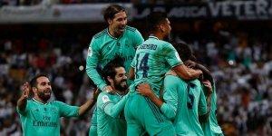 İspanya Süper Kupası'nda ilk finalist Real Madrid