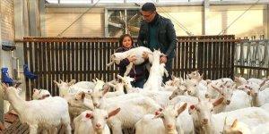 Kızı süt içsin diye kurduğu çiftlikle zincir marketlere girdi
