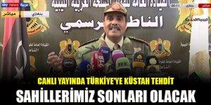 Canlı yayında Türkiye'ye küstah tehdit: Sahillerimiz sonları olacak
