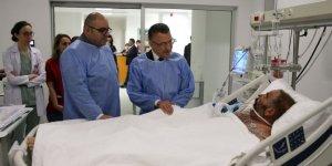 Oktay'dan Somali'deki bombalı saldırıda yaralananlara ziyaret