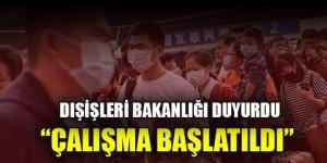 Çin'in Hubey eyaletindeki Türk vatandaşlarının tahliyesi için çalışma başlatıldı