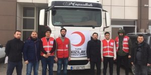 Kızılay Karatay şubesinden Elazığ'a yardım tırı