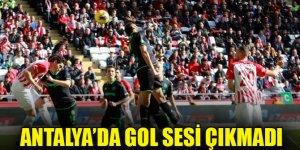 Konyaspor Antalyaspor ile yenişemedi