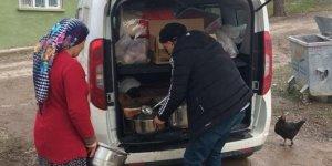 Deprem mutfak tırı 18 bin kişiye yemek dağıttı