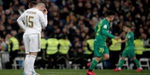 Real Madrid, İspanya Kral Kupası'na çeyrek finalde veda etti