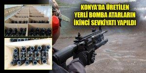Konya'da üretilen yerli bomba atarların ikinci sevkiyatı yapıldı