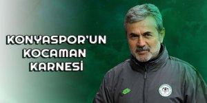 Konyaspor'un Kocaman karnesi
