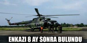 Endonezya'da kaybolan askeri helikopterin enkazı 8 ay sonra bulundu