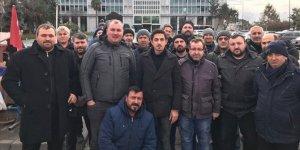 İBB'de işten çıkarılan işçilerin mücadelesi devam ediyor