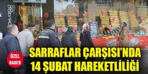 Sarraflar Çarşısı'nda 14 Şubat hareketliliği