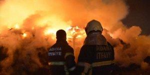 Pamuk yağı fabrikasındaki yangın ikinci gününde