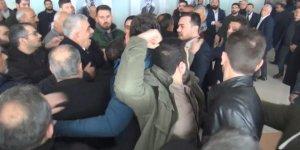 Şanlıurfa'daCHP kongresinde arbede