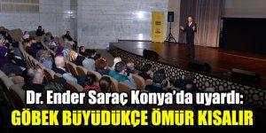 Dr. Ender Saraç Konya'da sağlıklı yaşamın püf noktalarını anlattı