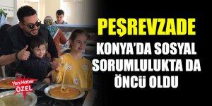 Peşrevzade Konya'da sosyal sorumlulukta da öncü oldu