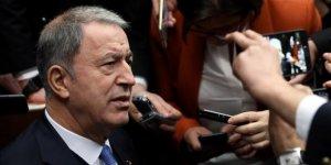 """Milli Savunma Bakanı Hulusi Akar'dan """"İdlib"""" açıklaması"""