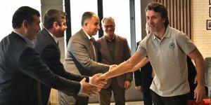 MHP il yönetiminden Korkmaz'a ziyaret