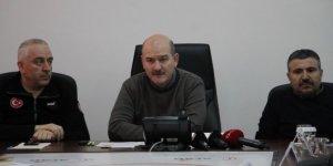"""Bakan Soylu: """"Elazığ ve Malatya'ya kamu yardım miktarı 458 milyon lira"""""""
