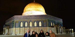 Kudüs'te Filistinlilerden Fransa'nın İslam karşıtı tutumuna protesto