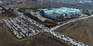 Nesibe Aydın'da bin 580 kontenjan için 45 bin 662 öğrenci sınava girdi