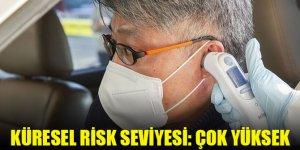 """DSÖ, yeni tip koronavirüs için küresel risk seviyesini """"çok yüksek""""e çıkardı"""