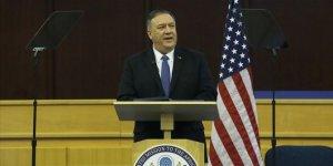 ABD Dışişleri Bakanı Pompeo'dan İran'a Afganistan uyarısı
