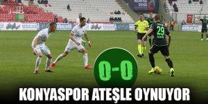 Konyaspor ateşle oynuyor! 0-0