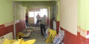Bozkır'da bilgi evi çalışmaları devam ediyor