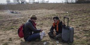 Düzensiz göçmenlerin tek isteği Avrupa'ya gitmek