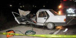 Afyonkarahisar'da trafik kazası: 1 ölü