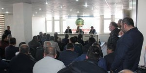 Yunak'ta şeker pancarı üreticileri için bilgilendirme toplantısı yapıldı